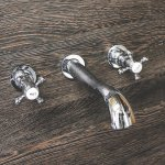 Belgrade Traditional Wall Mounted Basin Mixer