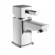 Mordern Rectangle Shape Cloakroom Basin Mixer Tap