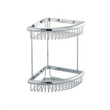 Double Corner Wire Soap Caddy