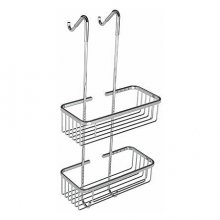 Double Wire Rectangular Shower Tidy