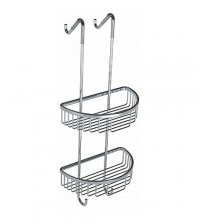 Double Wire D-Shaped Shower Tidy